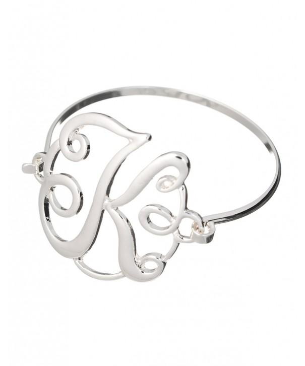 MONOGRAM Designer Silver tone Jewelry Nexus
