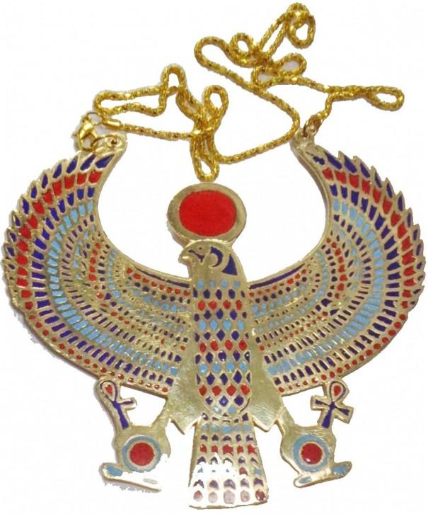 EGYPTIAN JEWELRY NECKLACE PENDANT PHARAOH
