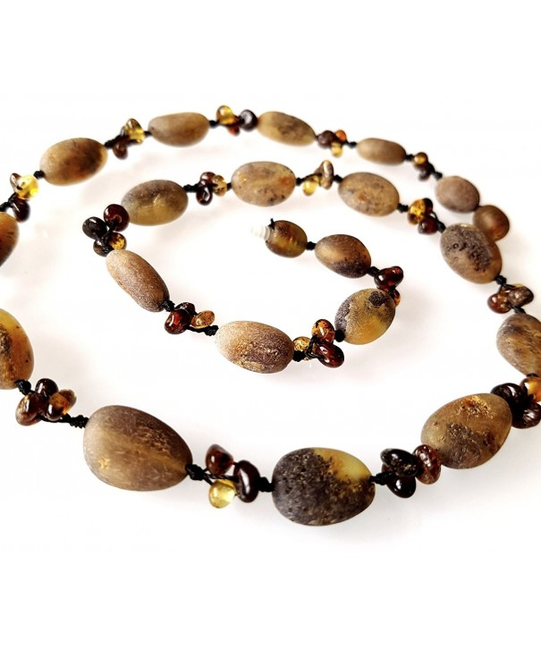 Baltic Amber Necklace Unpolished Healing