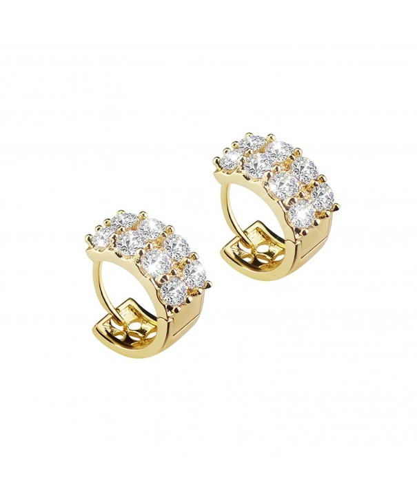 BAOAN Plated Sparking Zirconia Earrings