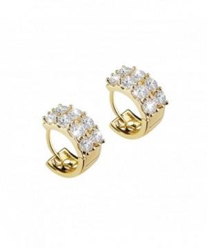 BAOAN Plated Sparking Zirconia Earrings