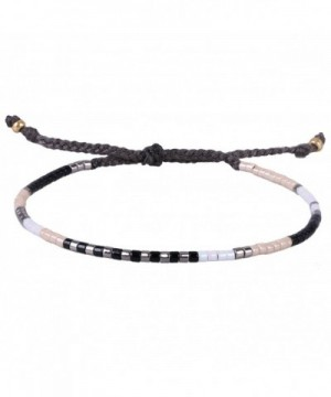 KELITCH Multicolor Crystal Friendship Bracelets
