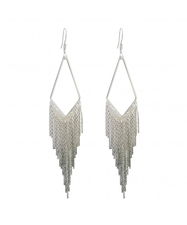 SELOVO Dangle Earrings Tassel Bohemian