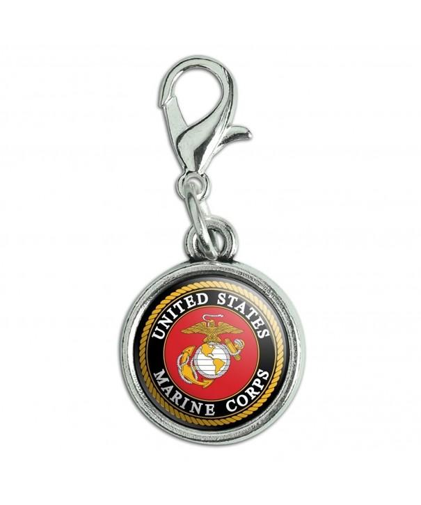 Marines Officially Licensed Antiqued Bracelet