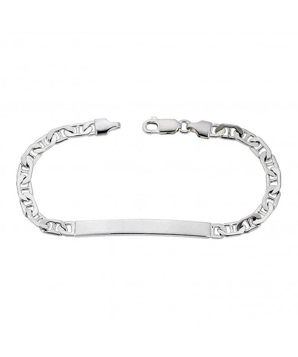 Sterling Silver Bracelet Mariner Nickel