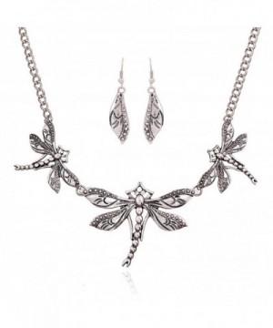 Winter Z Dragonfly jewelry accessories necklace