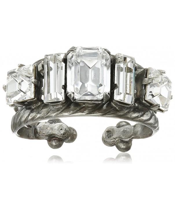 Sorrelli Crystal Geometric Double Clear