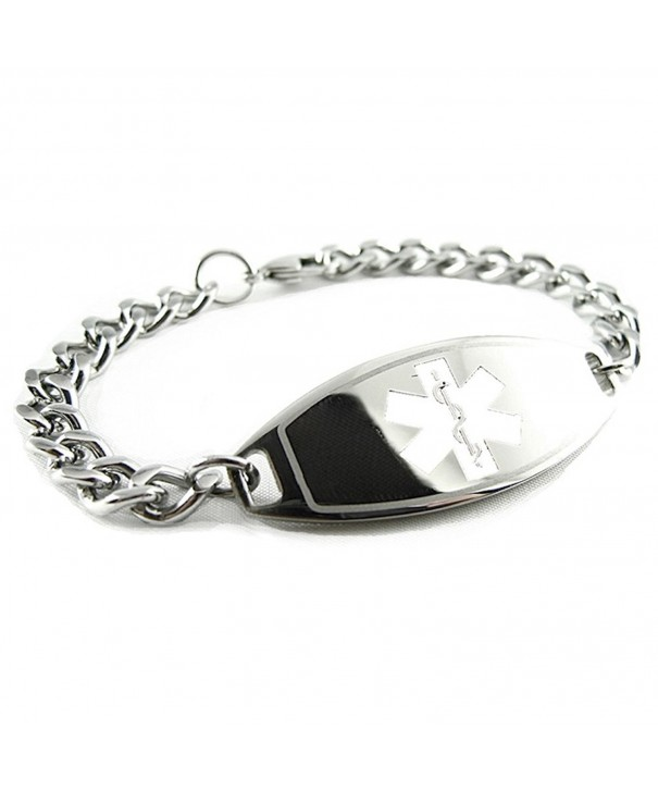 MyIDDr Pre Engraved Customized Coumadin Bracelet