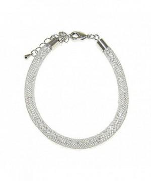 Shagwear Italian Crystal Infinity Bracelet