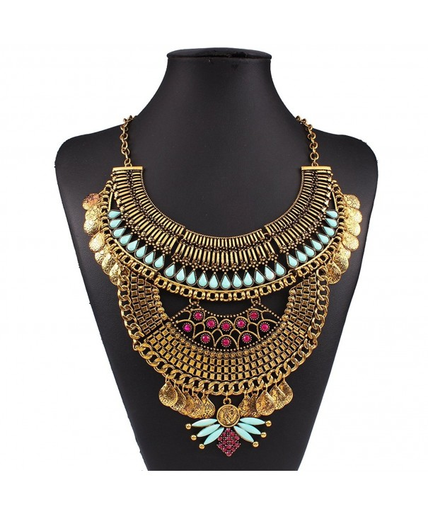 Diamonds Explosion exaggeration fashion necklace