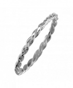 Stackable Rope 1 8mm Sterling Silver