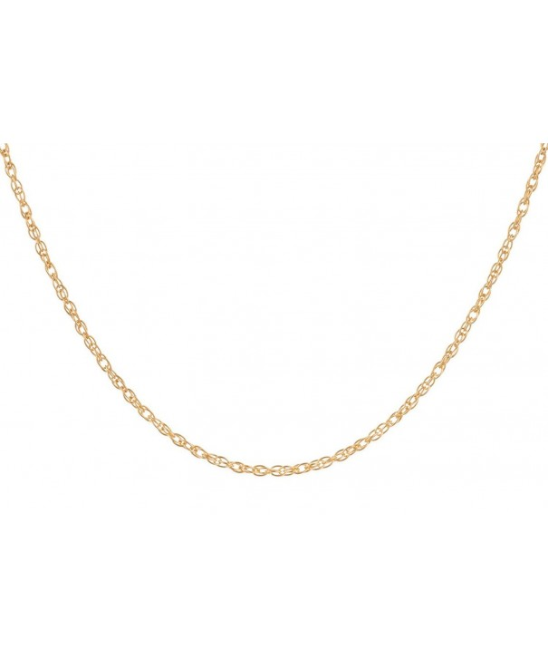 14Kt Gold Filled Rope Chain Necklace