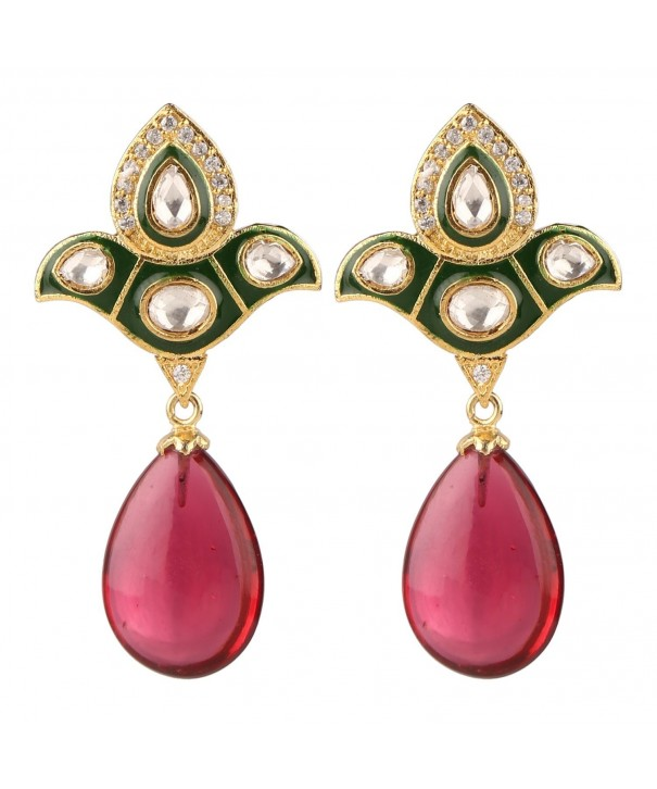 Swasti Jewels Bollywood Colourful Earrings