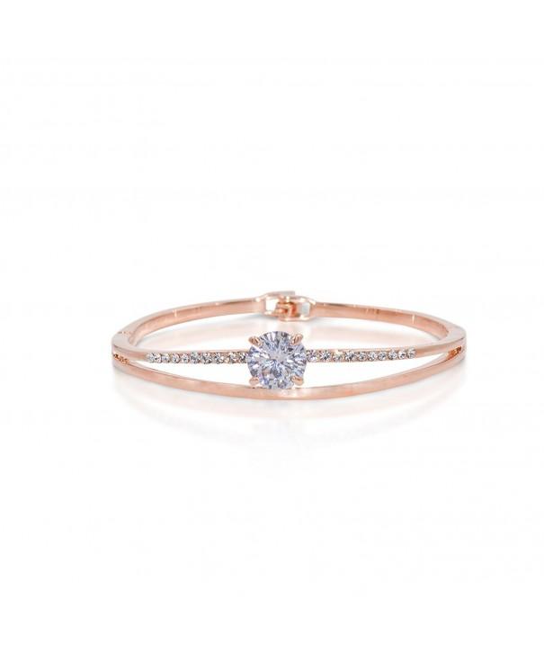 Hanie Bangle Bracelet Party Crystal