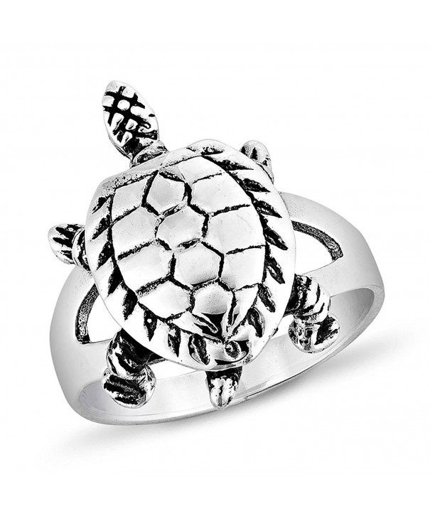 Sterling Silver Vintage Turtle Jewelry
