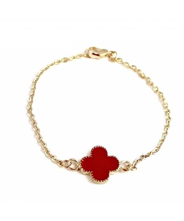 Clover Charm Fashion Chain Bracelet