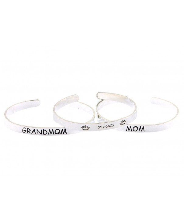 Mothers Ultimate princess GRANDMOM bracelets