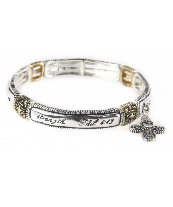 4030689 Philippians Stretch Bracelet Scripture
