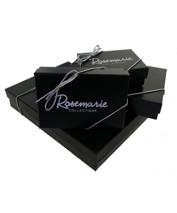 Rosemarie Collections Rhinestone Earrings Teardrop