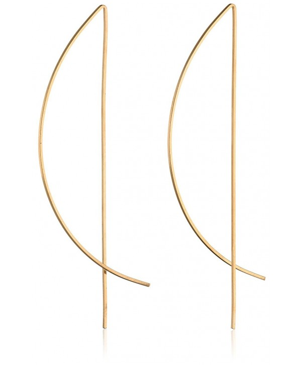 Gold Filled Half Threader Earrings
