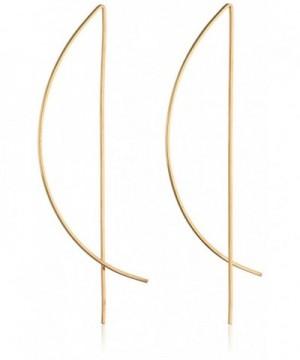 Gold Filled Half Threader Earrings