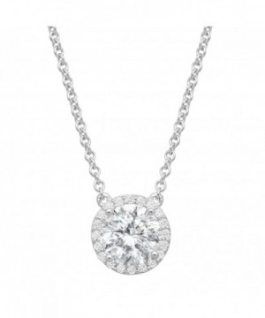 Necklace Swarovski Zirconia Sterling Silver