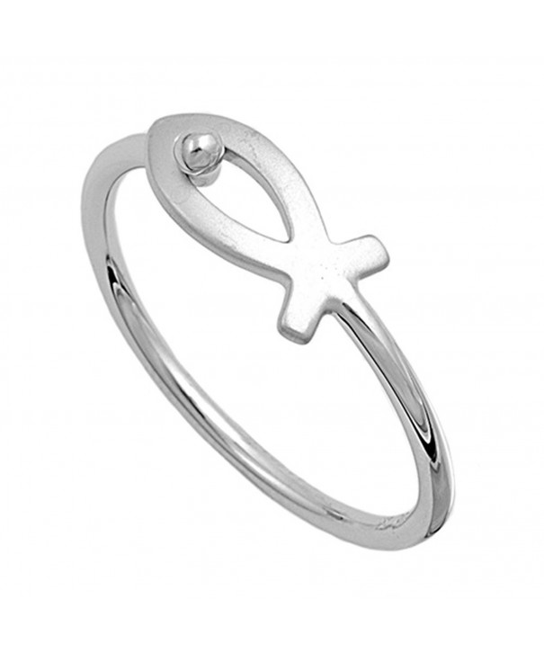 Sterling Silver Womens Christian Unique