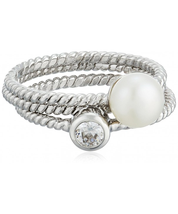 Bella Pearl Sterling Freshwater Stackable