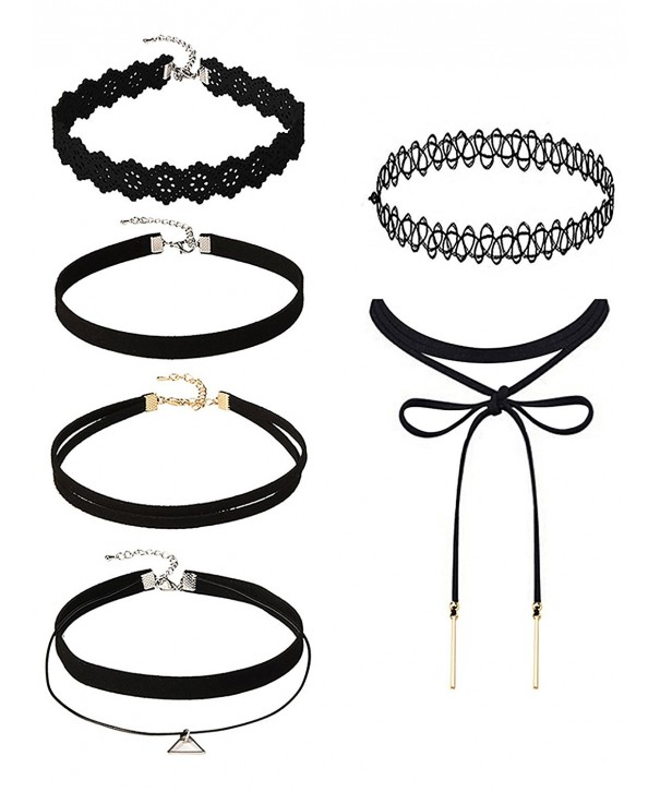 Mudder Necklaces Stretch Elastic Pendant