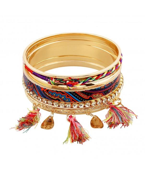 SUMAJU Bracelet Bohemian Bracelets Particoloured