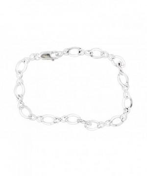 Corinna Maria Sterling Silver Infinity Bracelet
