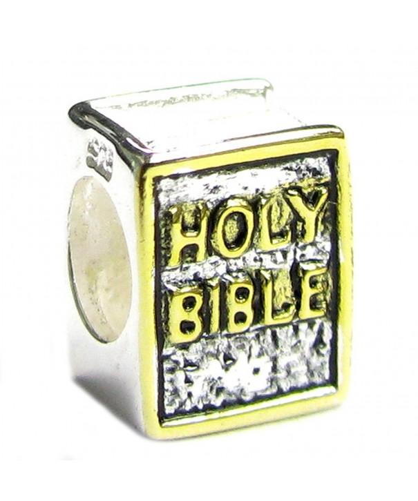 Sterling Silver Bible Gold Tone European