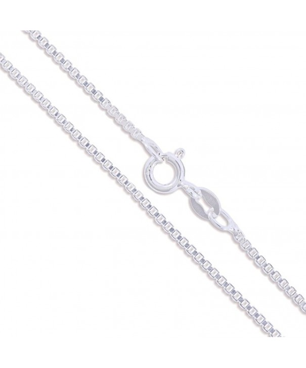 Sterling Silver Genuine Classic Necklace