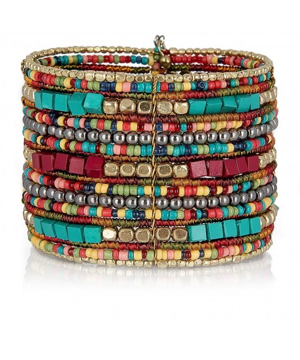 Bohemian Multi Colored Bracelets SPUNKYsoul Collection