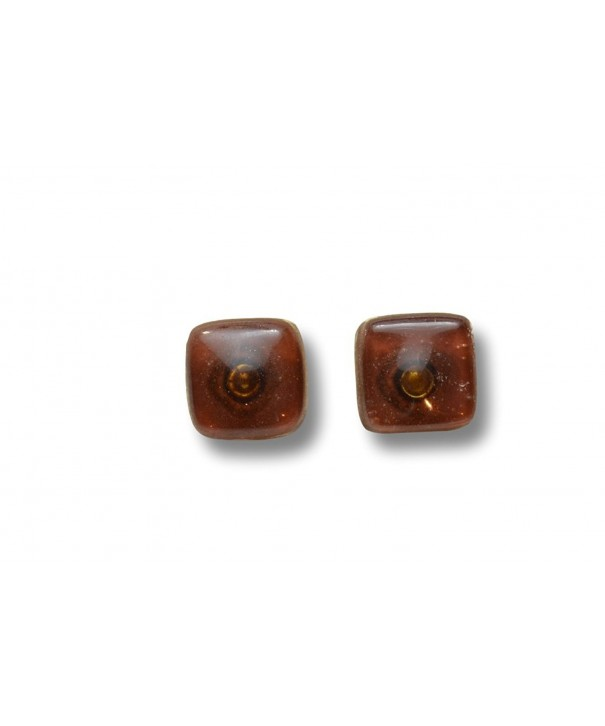 Crafted Artisan Fused Glass Earrings
