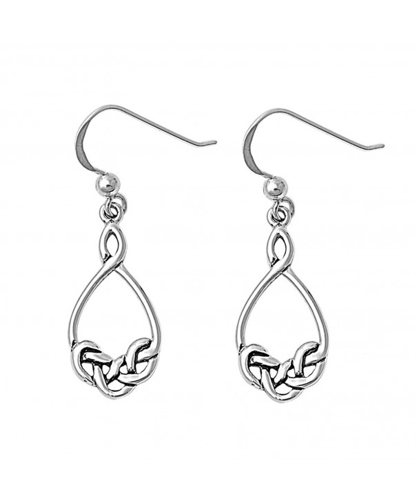 Witchcraft Binding Dangle Earrings Sterling