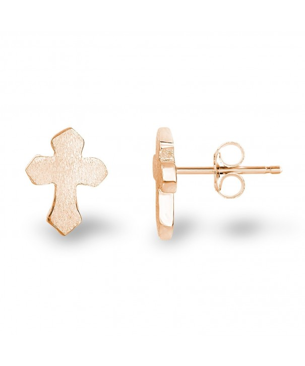 Plated Sterling Silver Finish Earrings