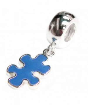 Sterling Silver Autism Awareness European
