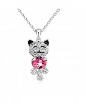 CASOTY Lucky Crystal Necklace Pendant