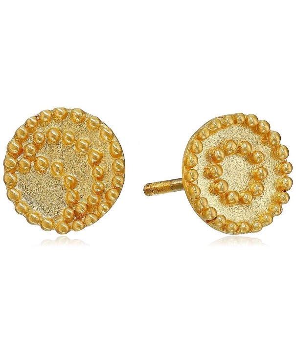 Satya Jewelry Celestial Gold Plated Earrings