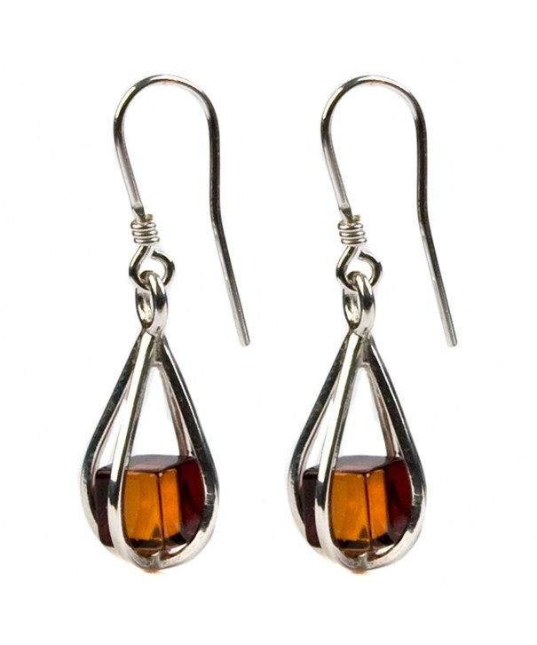 Sterling Millennium Collection Teardrop Earrings