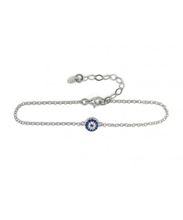 Bracelet Sterling Silver Turkish Crystals