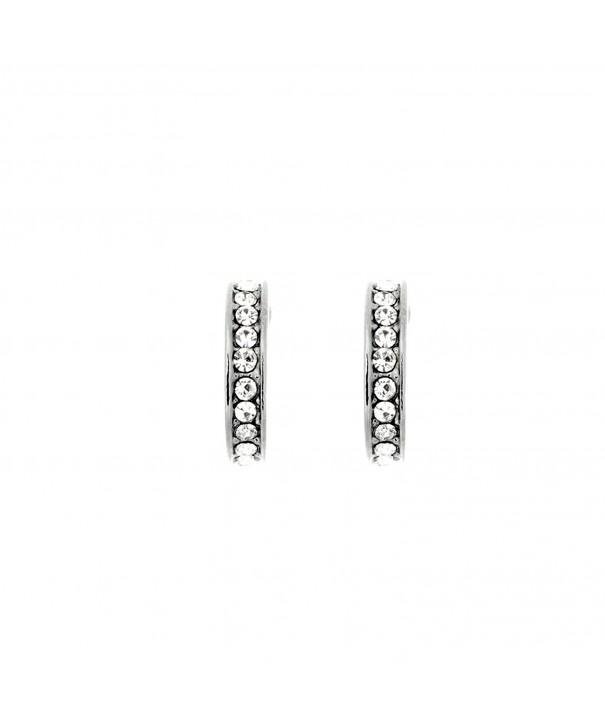 Pop Fashion Earrings Crystal Channel