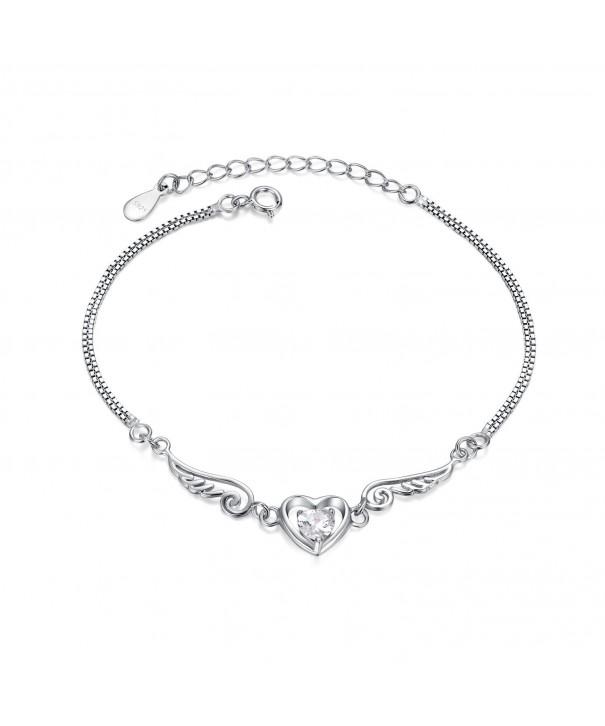 Sterling Simulated Diamond Bracelet BSHC1004SVR_CZ