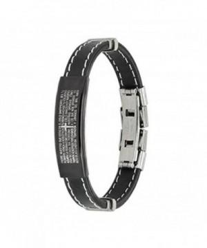 Stainless Spanish Prayer Stitch Bracelet