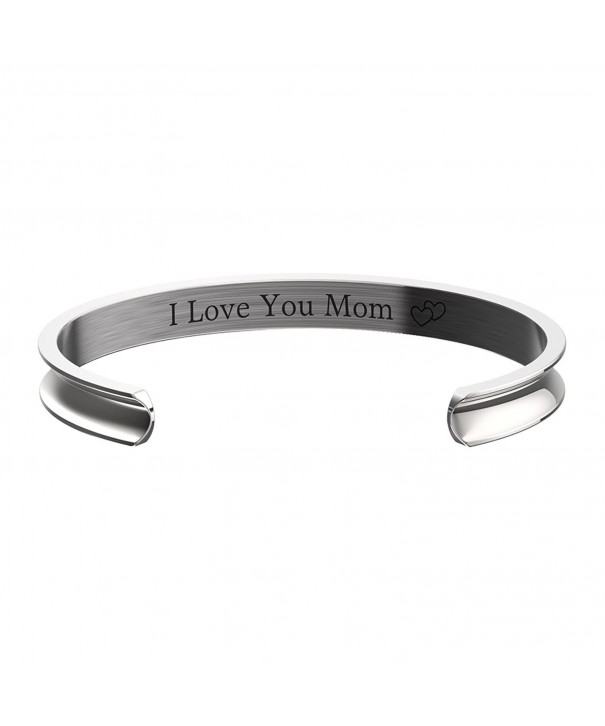 Mothers Day Gift Grooved Bracelet