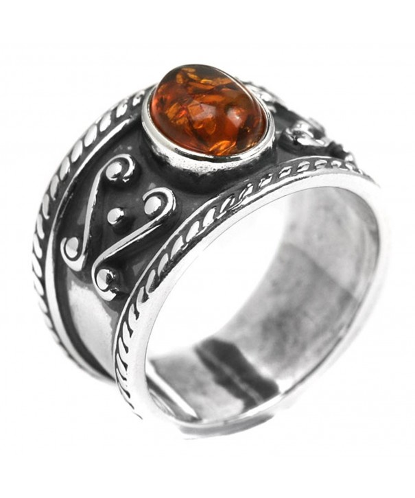 Honey Amber Sterling Silver Style