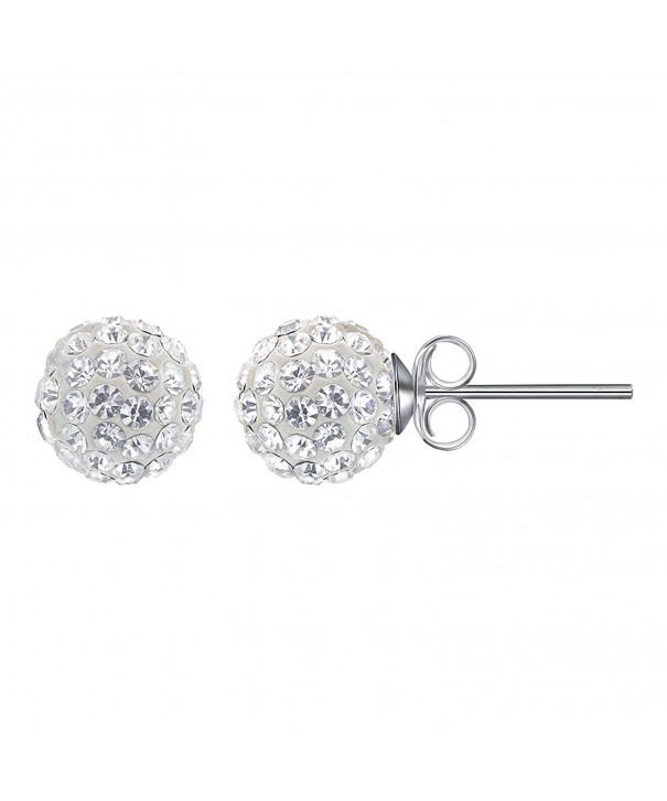 Gem Avenue Sterling Crystal Earrings