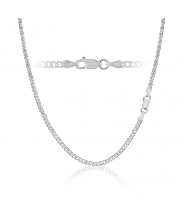 Sterling Silver Cuban Chain Necklace
