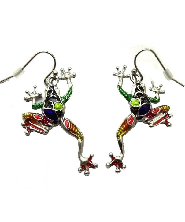 DianaL Boutique Beautiful Enameled Earrings